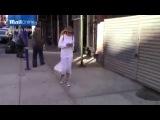 Джиджи Хадид после встречи с Джо Джонасом в Нью-Йорке (сентябрь 2014)