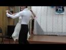 Саша и Оксана танец Сальса